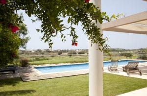 Casa Caesarea située directement sur le parcours de golf de Caesarea en Israel
